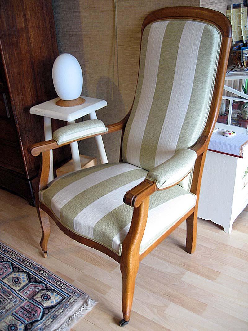 Atelier magnoa restauration - Restauration fauteuil voltaire ...